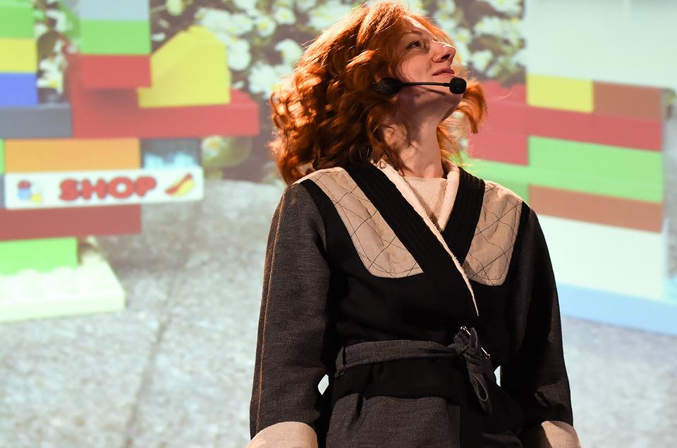 Юлия Шахновская делится принципами создания музея – большого и другого