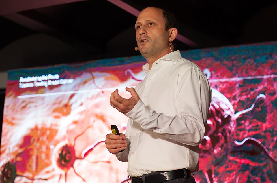 Ноам Шомрон, Рассчитать новый путь к лечению рака груди